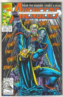 Avengers #353 comic book mint 9.8