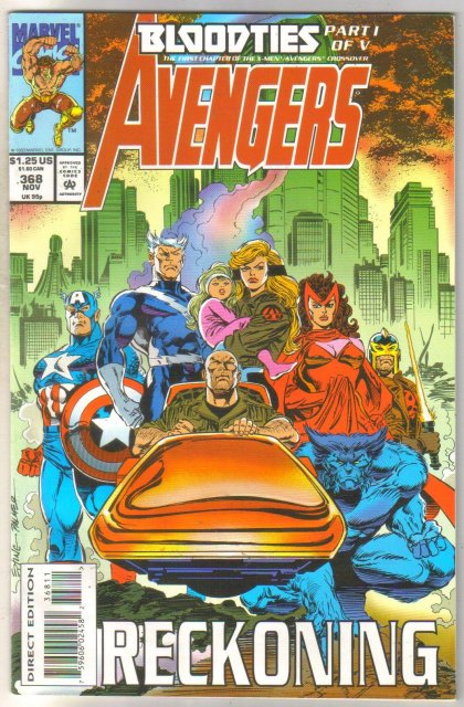 Avengers #368 comic book near mint 9.4