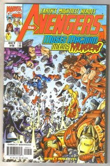 Avengers #9 comic book mint 9.8