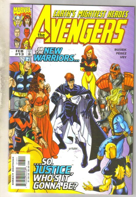 Avengers #13 comic book mint 9.8