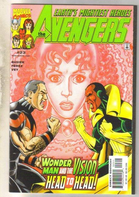 Avengers #23 comic book mint 9.8