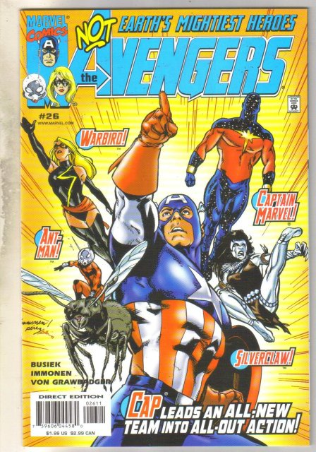 Avengers #26 comic book near mint 9.4