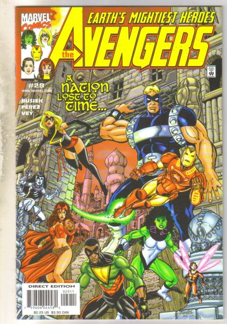 Avengers #29 comic book near mint 9.4