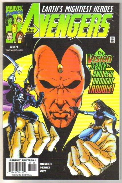 Avengers #31 comic book mint 9.8