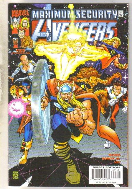 Avengers #35 comic book near mint 9.4