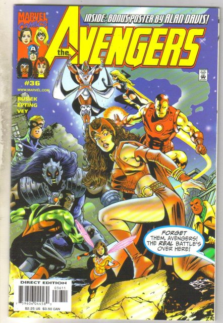 Avengers #36 comic book mint 9.8