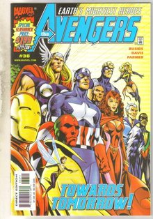 Avengers #38 comic book mint 9.8