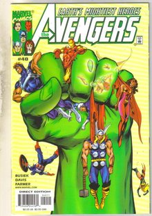 Avengers #40 comic book mint 9.8