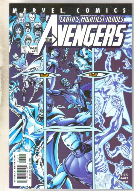 Avengers #457 comic book mint 9.8