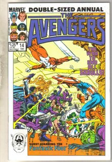 Avengers Annual #14 comic book mint 9.8