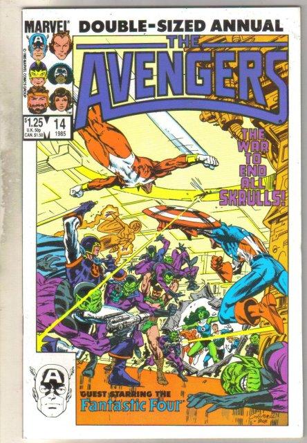 Avengers Annual #14 comic book mint 9.8