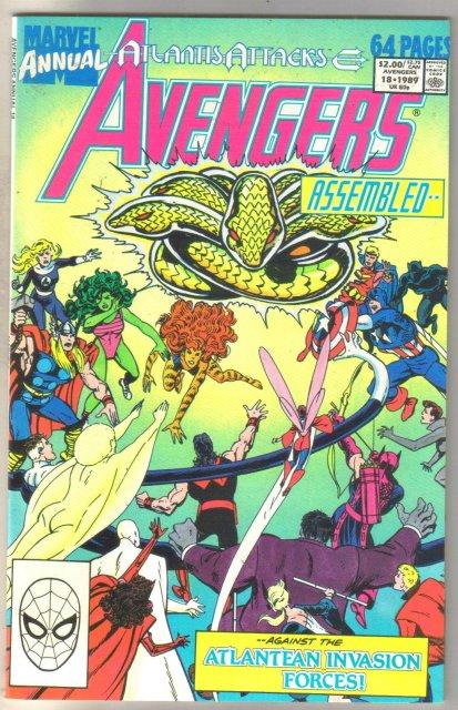 Avengers Annual #18 comic book mint 9.8
