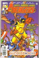 Avengers Annual 2000 comic book mint 9.8