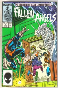 Fallen Angels #3 comic book near mint 9.4