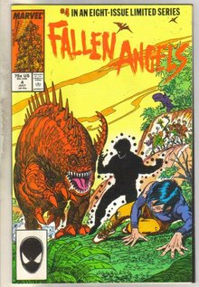 Fallen Angels #4 comic book near mint 9.4