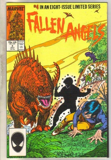 Fallen Angels #4 comic book near mint 9.4