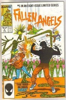 Fallen Angels #5 comic book near mint 9.4