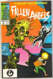 Fallen Angels #6 comic book near mint 9.4