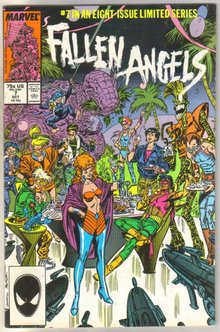 Fallen Angels #7 comic book mint 9.8