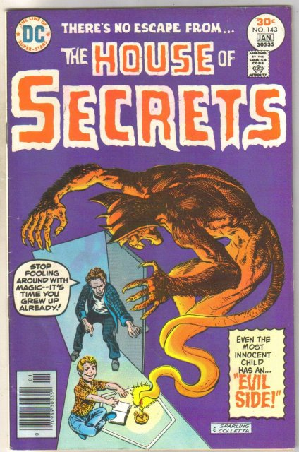 House of Secrets #143 comic book fine 6.0