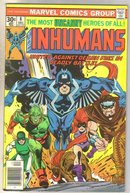 Inhumans #8 comic book fine 6.0