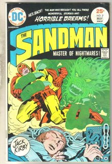 Sandman #2 comic book very fine 8.0