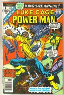 Luke Cage Power Man annual #1 comic book fine 6.0