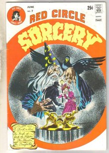 Red Circle Sorcery #7 comic book very fine 8.0