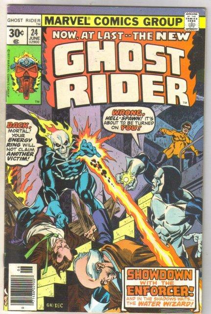 Ghost Rider #24 comic book fine 6.0