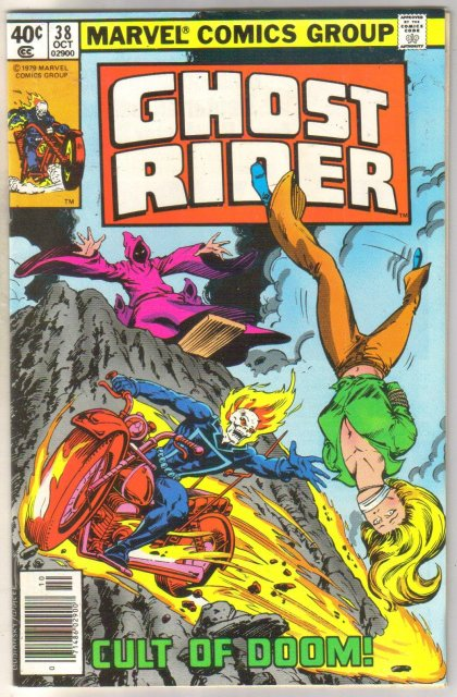 Ghost Rider #38 comic book near mint 9.4