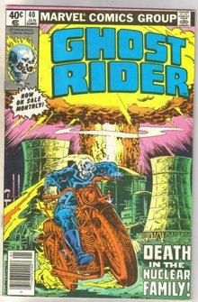 Ghost Rider #40 comic book near mint 9.4