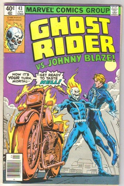 Ghost Rider #43 comic book very fine 8.0
