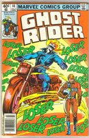 Ghost Rider #46 comic book very fine 8.0