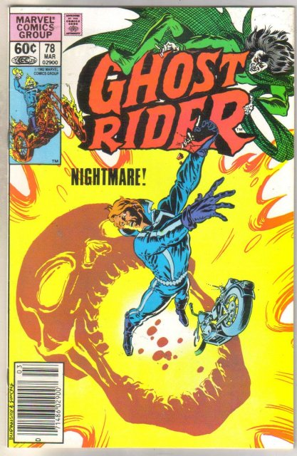 Ghost Rider #78 comic book near mint 9.4