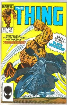 The Thing #27 comic book near mint 9.4