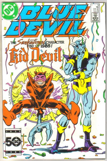 Blue Devil #14 comic book mint 9.8