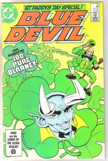 Blue Devil #25 comic book near mint 9.4