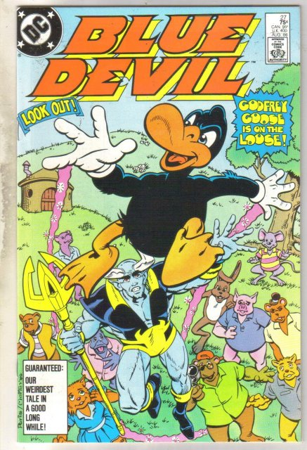 Blue Devil #27 comic book near mint 9.4