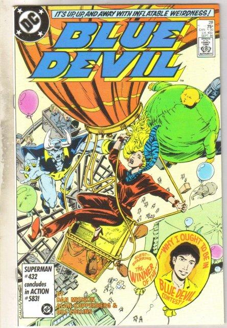 Blue Devil #28 comic book near mint 9.4
