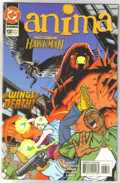 Anima #13 comic book near mint 9.4