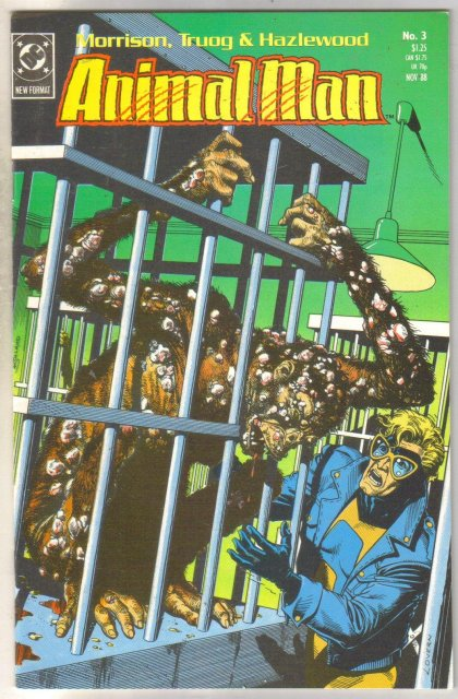 Animal Man #3 comic book near mint 9.4