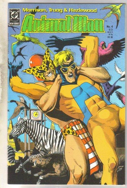 Animal Man #4 comic book near mint 9.4
