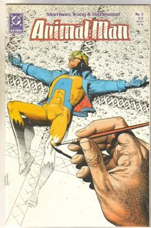 Animal Man #5 comic book mint 9.8