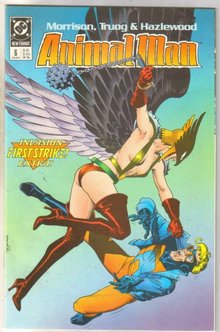 Animal Man #5 comic book near mint 9.4