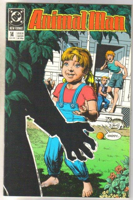 Animal Man #14 comic book near mint 9.4