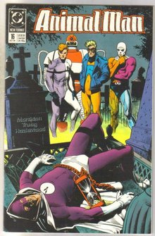 Animal Man #16 comic book near mint 9.4