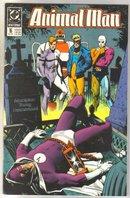 Animal Man #16 comic book near mint 9.4