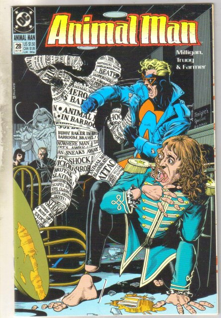 Animal Man #29 comic book near mint 9.4