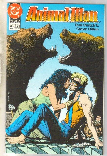 Animal Man #43 comic book near mint 9.4