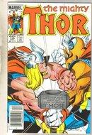 Thor #338 comic book very fine 8.0